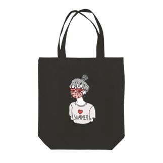 妄想サマーバケーション Tote bags