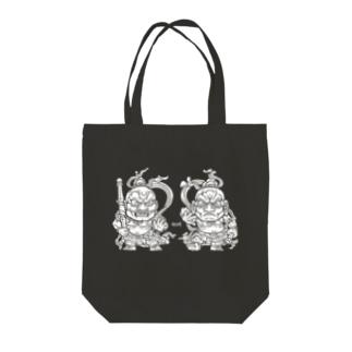 仁王さま Tote bags