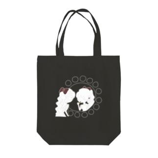 レトロな紅茶ちゃん Tote bags
