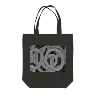 蛇柄 Tote bags