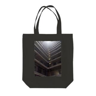 Black White Streets Tote bags