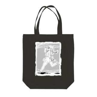 いってきまーす なトート Tote bags