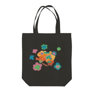 KEROKERO2 Tote bags