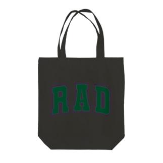RAD Tote bags