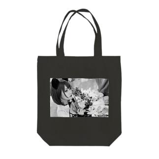 モノクロチャイナ Tote bags
