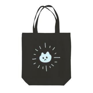 サンシャイン猫ブルー トートバッグ