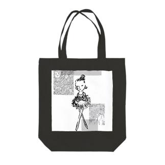 バレリーナ Tote bags
