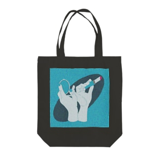 Meの口紅と手 Tote bags