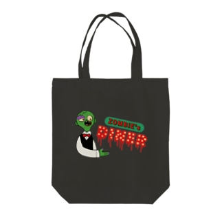 ZOMBIE's DINER Tote bags