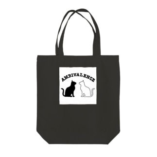 ambivalence official goodsのアンビバキャット Tote bags