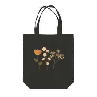 DRIED FLOWER Tote bags