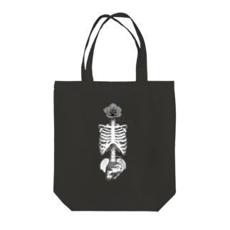 RoseScull Tote bags