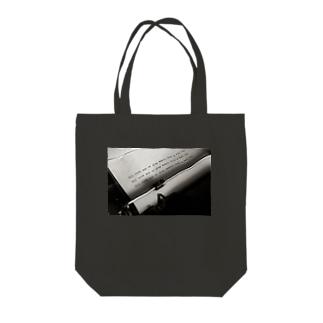 タイプライター Tote bags