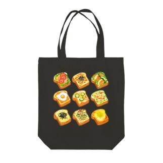 オープンサンド[御飯系] Tote bags