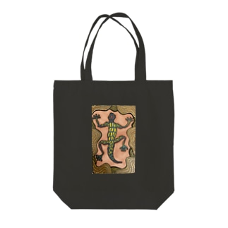 爬虫類 Tote bags