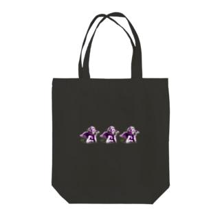トートバッグ(EVILANGEL_BK_B) Tote bags