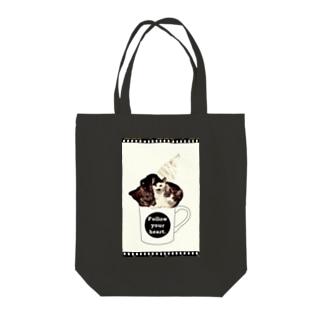 SMA sweet family Tote bags