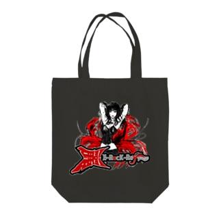 E-Rock麗-Reyy- Tote bags
