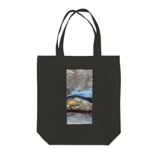 マルセイユ夜景 Tote bags