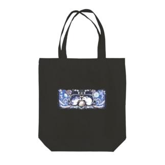 トートバッグ【ねずみ】 Tote bags