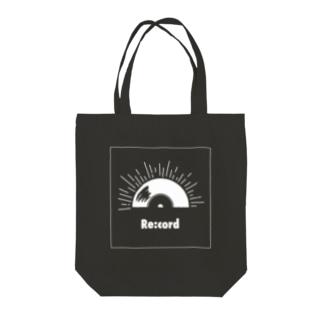 Sun Re:code Tote bags