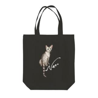 猫 Neco Tote bags