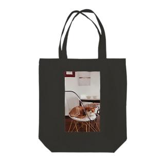 猫と家 Tote bags