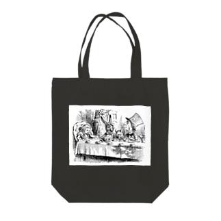 不思議の国のアリス A Mad Tea-Party Tote bags