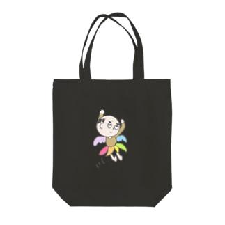 妖精ヨワ・メンタール② Tote bags