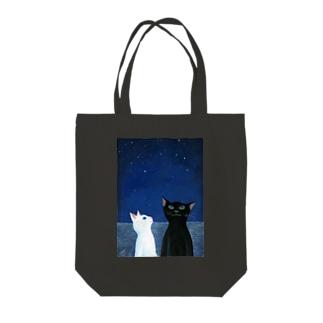 星のまたたき Tote bags