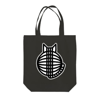 SHOP W SUZURI店の猫の丸い背中 トートバッグ Tote bags