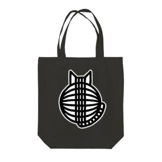猫の丸い背中 トートバッグ Tote bags