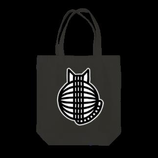 SHOP W SUZURI店の猫の丸い背中 トートバッグ Tote bags