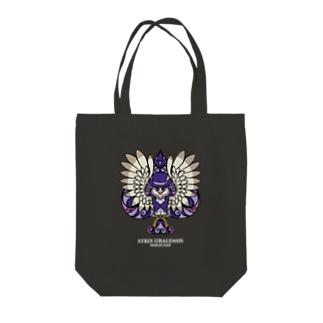 OWL Tトートバッグ(dark) Tote bags