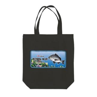 KURODAI_C_C6 Tote bags