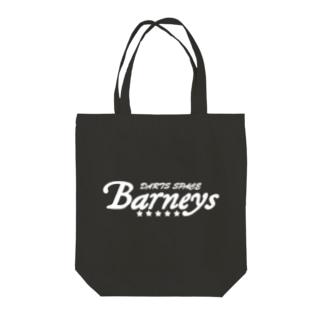 Barneys新ロゴ白 Tote Bag