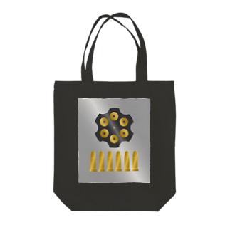 バレットシューター フル Tote bags