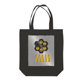 バレットシューター リローテッド Tote bags