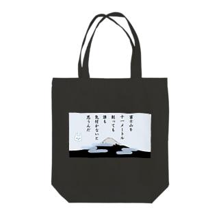 11m低くなった富士山 Tote bags