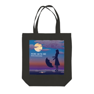 トートバッグ濃色【HERE WITH ME】 Tote bags