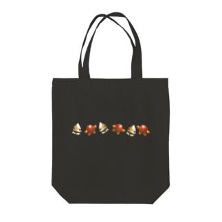 イカスモ&コロスモ おでかけバッグ Tote bags