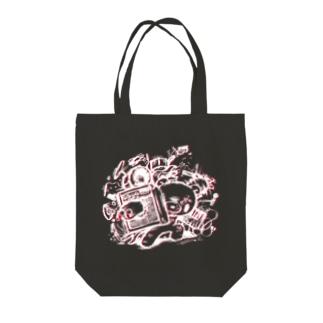 【各20点限定】いたずらぐまのグル〜ミ〜(#28/2c) Tote bags