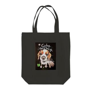 キャバリア Tote bags