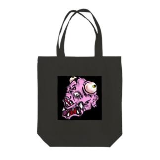 バケモンくん Tote bags