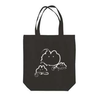 すみうさぎ2 Tote bags