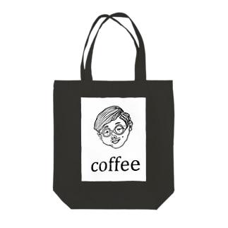 COFFEE MAN Tote bags