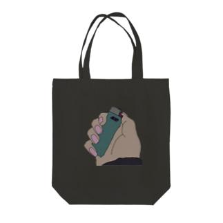 俺らのライター Tote bags