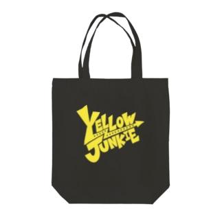 YELLOW JUNKIE ロゴ(黄色ver.) Tote bags