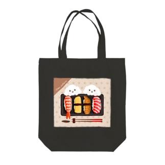 LEAちゃん(お寿司) Tote bags