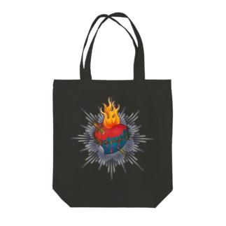 Sacred Heart Tote bags